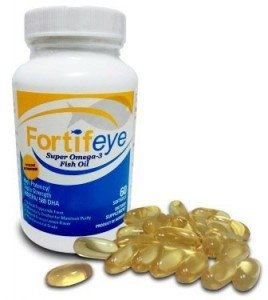 Fortifeye Vitamins - Super Omega 3 Fish Oil (60 Tablets) by MAGNIFYING (Distilled Omega 3 Fish Oil)