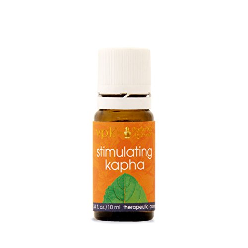 Stimulating Kapha Aroma Oil | 0.34 fl. oz. | Herbal Essential Aromatic Oil for Stimulating | with Lavender Oil, Camphor Oil & Indian Frankincense Oil | Aromatherapy | Boost Your Energy