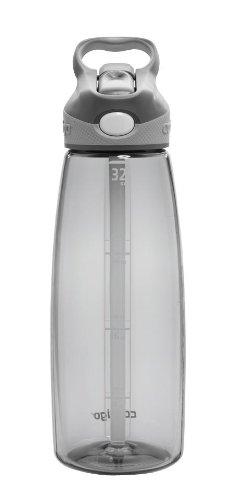 Contigo AUTOSPOUT Straw Addison Water Bottle, 32oz, Smoke