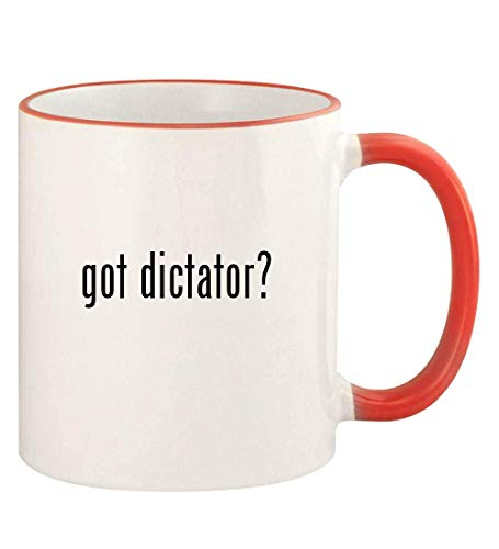 The Dictator Costumes Kit - got dictator? - 11oz Colored Rim