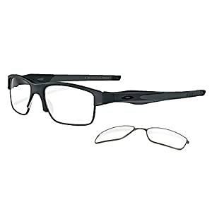 Oakley Eyeglasses Crosslink Switch 100% Authentic (53 mm, Satin Black)