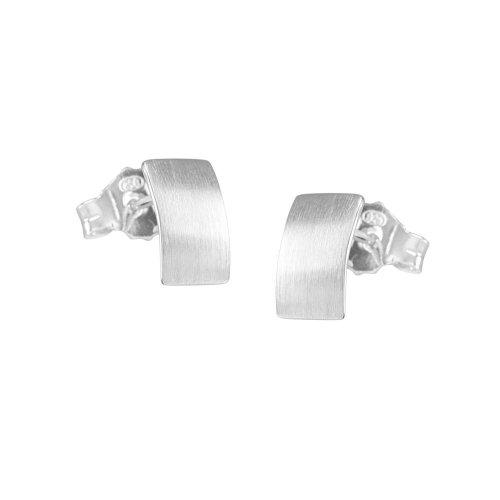 VINANI Ohrstecker Loop Silber 925 Ohrringe OLO