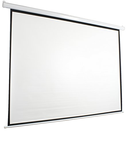 Vivo 100 electric projector screen 100 inch diagonal for Motorized projector screen reviews