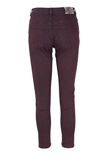 Rojo Granate Desigual Pantalón Overdye Pantalón Desigual wHT4q4