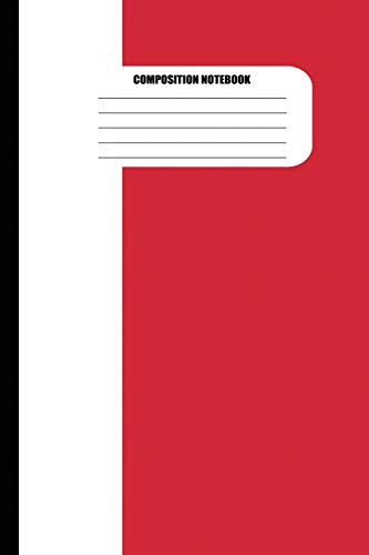 Composition Notebook: Flag of Italy / Italian Flag (100 Pages, College Ruled)