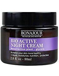 [BONAJOUR] Resurrection Plant Water Sleeping Mask Natural Night Cream - Renewal & moisturizing & nutrition Face Mask 2.8Fl.oz ()