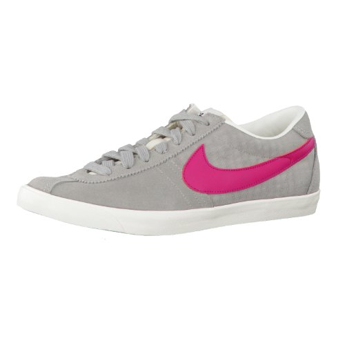 Nike - Zapatos de cordones para hombre Grigio-Fuxia