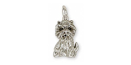 (Westie Charm Jewelry Sterling Silver Handmade West Highland White Terrier Charm D10-C)