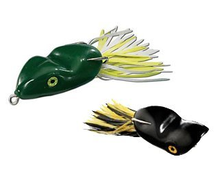 Southern Lure Scum Frog Popper 5/16-Ounce, Natural Black and Green