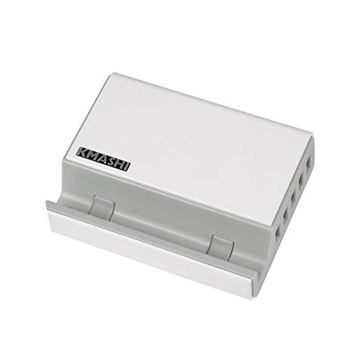 KMASHI 5-Port USB Charging Station 50W 10A, Des...