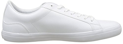 Hommes Bl Blanc 1 Cuir Cam Chaussures Formateurs Lacoste Lerond qF5w17xWnX