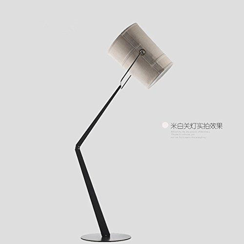 Modernes, minimalistisches Wohnzimmer, helle Stoffe carbon steel LED-Lampen