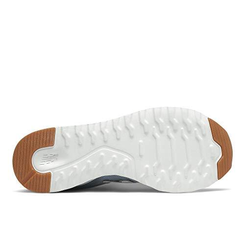 New Balance Women's 311 V2 Sneaker, Cyclone/Uv Glo, 5