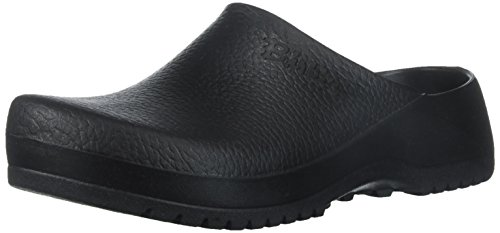Birkenstock womens in Black from Polyurethane Synthetic-Clogs 40.0 EU W Polyurethane Footbed
