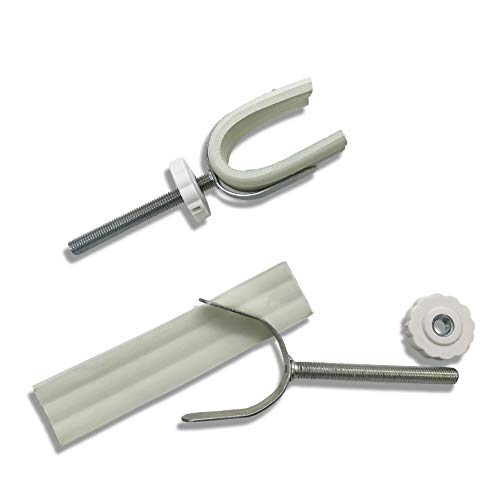 Sungrace U Spindle M8 Banister Gate Adaptors for Pressure Mounted Baby Gates (2 Pack, 8mm) ()