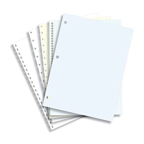half letter size 55 x 85 24lb plain paper 250 sheets office