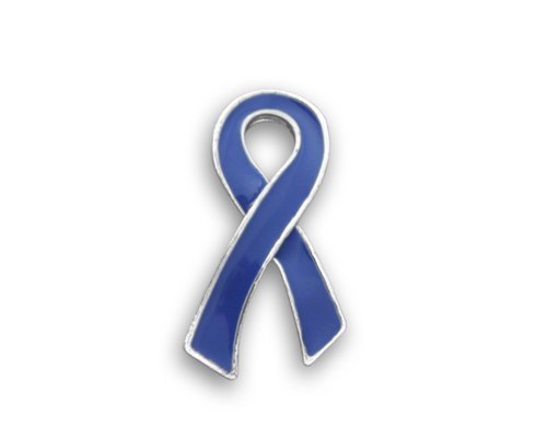 Fundraising For A Cause Esophageal Cancer Awareness Periwinkle Ribbon Pin - Large Flat (Retail)