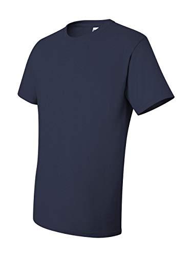 Jerzees Pocket - Jerzees Dri-Power Mens Active Pocket T-Shirt X-Large J Navy