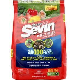 Sevin Insect Killer Lawn Granules - 25 LBS.