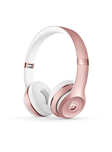 Beats Solo3 Wireless On-Ear Headphones - Rose Gold (Renewed) (Gold Beats Wireless)