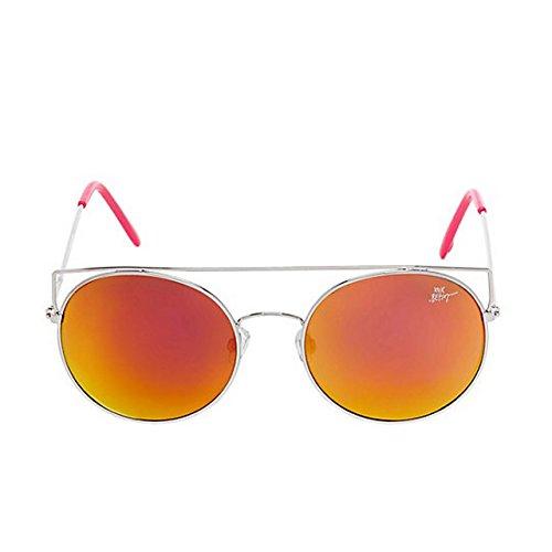 Betsey Johnson Women's BJ465118 Pink - Aviator Sunglasses Johnson Betsey