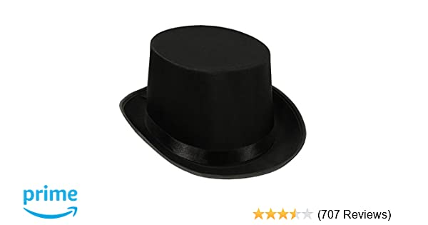 Amazon.com  Beistle Satin Sleek Top Hat  1076997e32b0