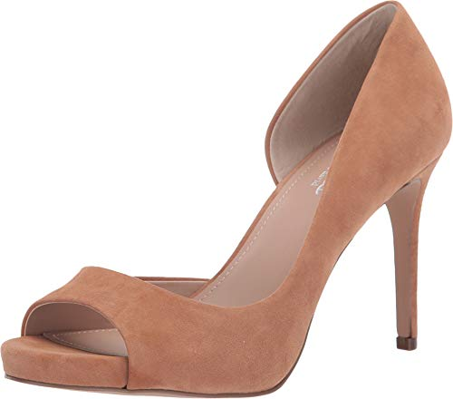 - CHARLES BY CHARLES DAVID Women's Chess Pump Nude 6 M US