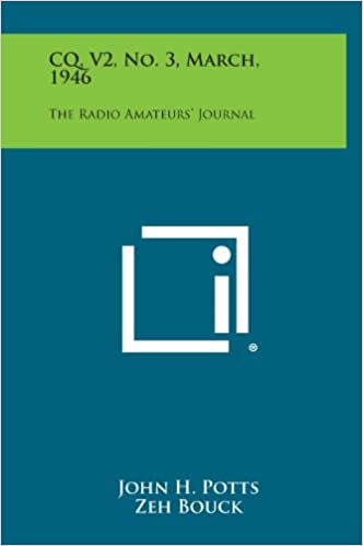 CQ, V2, No. 3, March, 1946: The Radio Amateurs' Journal