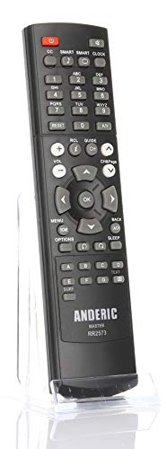 Anderic RR2573 for All Philips/Magnavox TVs - Master/Setup Remote - No Programming Required - Substitute for Philips RC2573GR, RG4172BK, 22AV8573/00