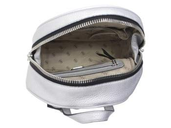 GUESS Women's Urban Chic Large Silver Backpack Bag