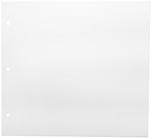 American Crafts 76711 12-Inch by 12-Inch Page Protectors ()