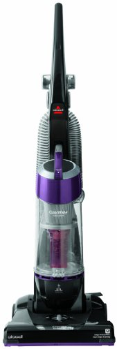 Bissell Bagless Upright Vacuum Cleaner, with One Pass Cleaning Technology and Turbo Brush Tool, Features Easy Empty Cup, and HEPA Media Filter, with Multi-Level Filtration, and Washable Foam Tank Filter, Crevice Tool Accessories Included (Bissell Turbo Sweeper)