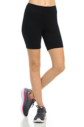Womens Under Skirt Stretchy Short Pants Leggings for Fitness Sports Or Casual