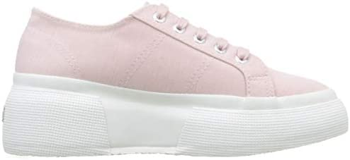 Superga Women's Low-Top Trainers, Rosa Pink 370, 8 US