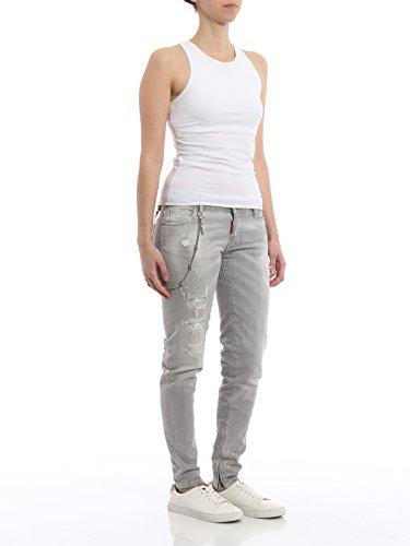 Dsquared2 Jeans Grigio Cotone Donna S75la0881s30260852 xPACq