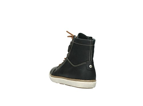 leather 9453 wolky black nbsp;Ontario 500 schnürschuhe xXxY5qR