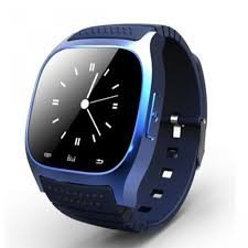 M26 - SmartWatch color azul con pantalla táctil, Bluetooth ...