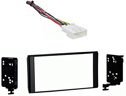 Amazon.com: Compatible with Subaru Forester 2014 2015 Without OE NAV Double  DIN Stereo Harness Radio Dash Kit: Car Electronics | 2014 Subaru Forester Wiring Harness |  | Amazon.com