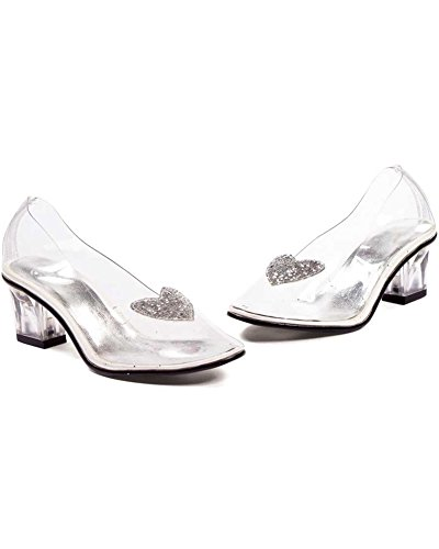 Ellie Shoes Kids Cinderella Costume Glass Slipper Shoe US sz 13/1 ()