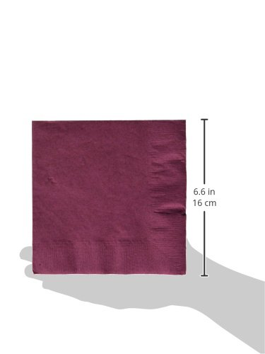 Amscan Big Party Pack New Purple Luncheon Paper Napkins, 6 Pk.
