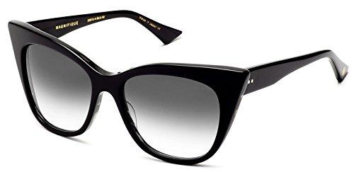 Dita Magnifique Sunglasses Black with Dark Grey to Clear Anti Reflective Lens - Eyewear Dita