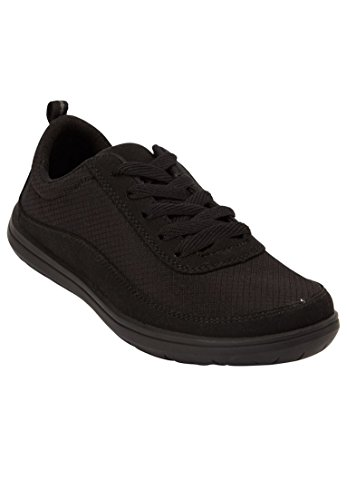 Comfortview Womens Plus Size Allegra Sneakers Black 6tCv2lPi6