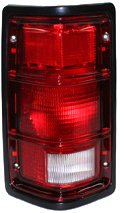 TYC 11-3192-01 Dodge Dakota Driver Side Replacement Tail Light Assembly (Dakota Oem Dodge Replacement)