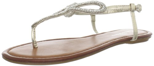 CL by Chinese Laundry Women's Nikita Thong Sandal,Light Gold,7.5 M US