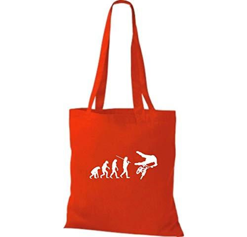 Para Tela De Algodón Bolso Rojo Mujer Shirtinstyle UqSPw
