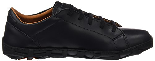 Art Melbourne, Zapatos de Cordones Derby para Hombre Negro (Heritage Black)