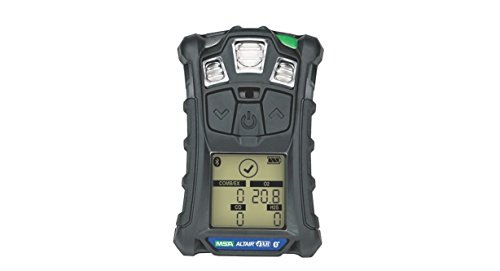 (Msa 10178557 Altair 4XR Multigas Detector: LEL, O2, H2S & CO, Charcoal, North American Charger)