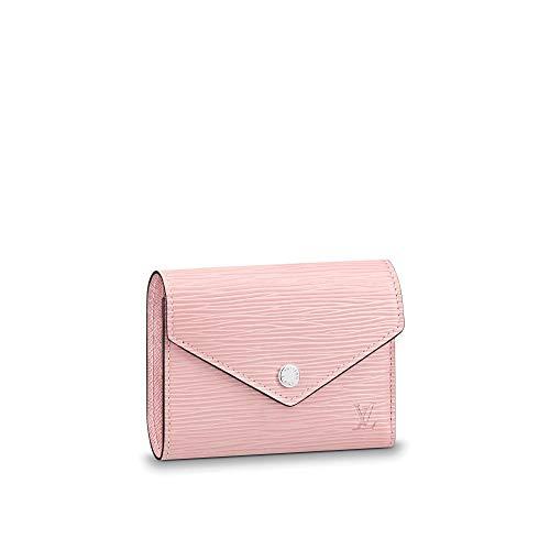 kjelaeg Luxurious Retro Monogram Practical Short Compact Wallets Printed Canvas Leather Zipper Coin Purse Pocket for Women