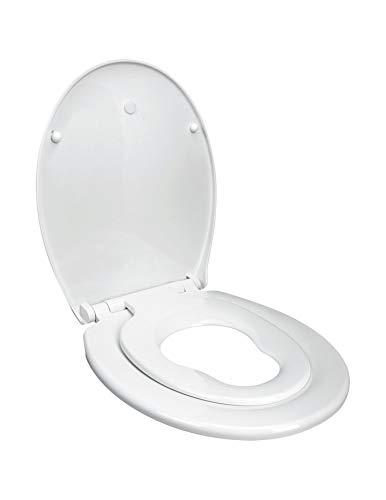 Softclose Enfants Familles Abattant WC /à Descente Ralentie amovible pour nettoyer