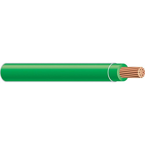 Southwire 25 ft. 14 Green Stranded CU THHN Wire (Thhn Wire Green)